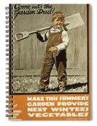 Wwi Farming C1915 Spiral Notebook