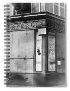 Wwi Paris, C1914 Spiral Notebook
