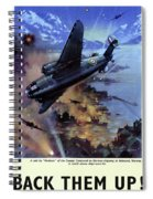 Wwii Royal Air Force, C1942 Spiral Notebook