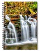 Wyandot Falls Ricketts Glen Spiral Notebook