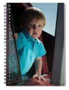 Wyatt Portrait 3 Spiral Notebook