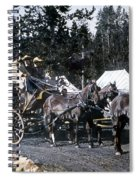 Wylie Coach Yellowstone National Park Spiral Notebook
