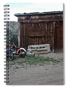 Wyoming Backroads Spiral Notebook