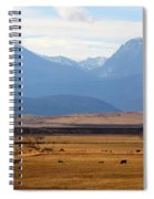 Wyoming Beauty Two Spiral Notebook