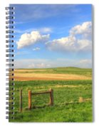 Wyoming Landscape Spiral Notebook