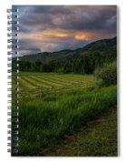 Wyoming Pastures Spiral Notebook