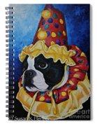 Wyze Clown Spiral Notebook