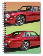 1986 X J S Jaguar Coming And Goingf Spiral Notebook