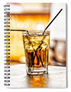 X Marks The Drink Spiral Notebook