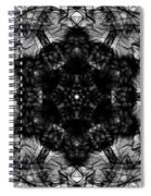X-ray Of A Snowflake Spiral Notebook