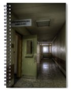 X Ray Waiting Room. Spiral Notebook