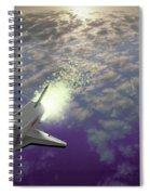 X34 Aircraft Spiral Notebook