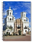 Xavier Tucson Arizona Spiral Notebook