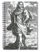 Xenophon Of Athens, Ancient Greek Spiral Notebook