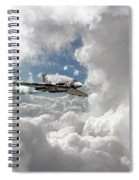Xh558 At Altitude Spiral Notebook
