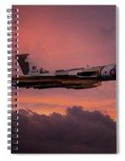 Xh558 Sunrise Spiral Notebook
