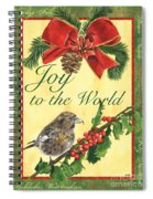 Xmas Around The World 2 Spiral Notebook