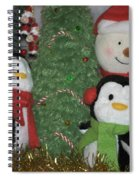 Xmas Buddies Spiral Notebook