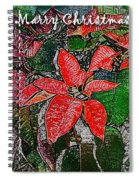 Xmas Card 2 Spiral Notebook