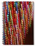 Xmas Lights Spiral Notebook