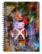 Xmas Soldier Ornament Photo Art 02 Spiral Notebook