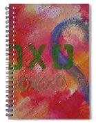 Xoxo Spiral Notebook