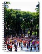 Xuxa's Birthday Celebration - Sao Paulo Spiral Notebook