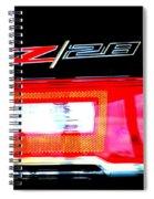 Xxl Chevrolet 2014 Z28 Tail Light Spiral Notebook
