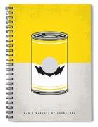 Y Mario Warhols Minimal Can Poster-wario Spiral Notebook