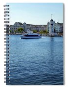 Yacht And Beach Club Wdw Spiral Notebook
