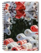 Yacht Club Buoys 4 Spiral Notebook