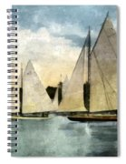 Yachting In Saugatuck Spiral Notebook