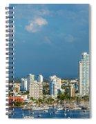 Yachts And Modern Cartagena Spiral Notebook