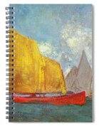 Yachts In A Bay Spiral Notebook