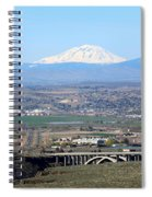 Yakima Valley Outlook With Mount Adams Spiral Notebook