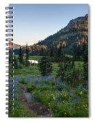 Yakima Peak At Sunrise Spiral Notebook
