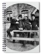 Yale Students, C1890 Spiral Notebook