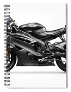 Yamaha R6 Supersport Motorcycle Spiral Notebook