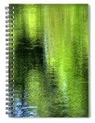 Yamhill River Abstract 24831 Spiral Notebook