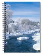 Yampa River Colorado Spiral Notebook