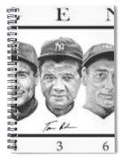 Yankees Spiral Notebook