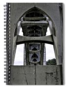 Yaquina Bay Bridge - Series C Spiral Notebook