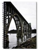 Yaquina Bay Bridge - Series D Spiral Notebook