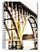 Yaquina Bay Bridge - Series G Spiral Notebook