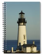 Yaquina Head Lighthouse 4 B Spiral Notebook