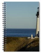 Yaquina Head Lighthouse 4 D Spiral Notebook