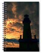 Yaquina Head Lighthouse 5 Spiral Notebook
