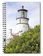 Haceta Head Lighthouse 7 Spiral Notebook