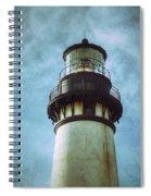 Yaquina Head Lighthouse Texture Spiral Notebook
