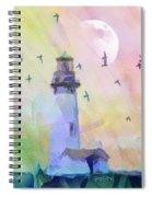 Yaquina Lighthouse Spiral Notebook